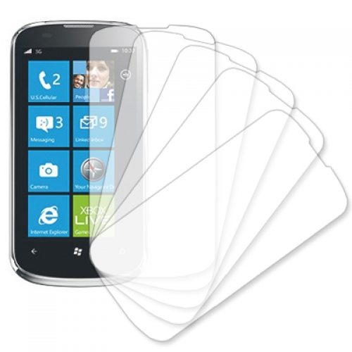ZTE Render MPERO 5 Pack of Clear Screen Protectors