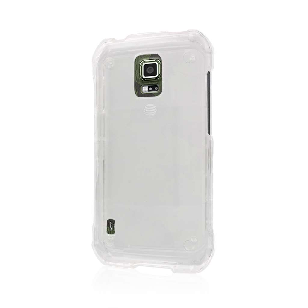 Samsung Galaxy S5 Active - Clear MPERO SNAPZ - Case Cover