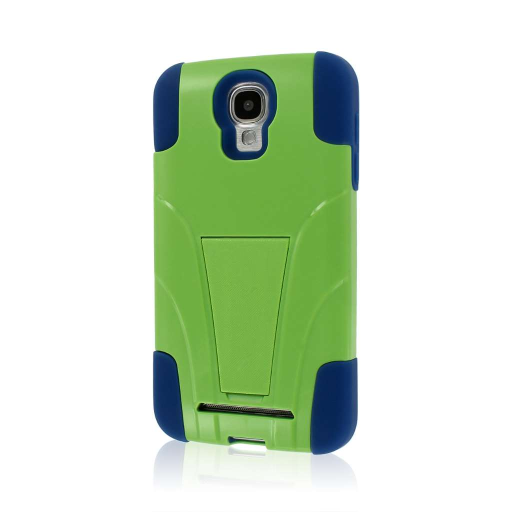Samsung ATIV SE - Blue / Green MPERO IMPACT X - Kickstand Case Cover
