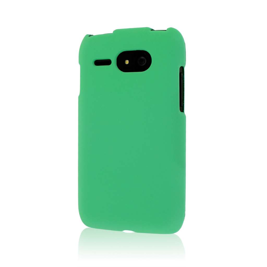 Kyocera Event - Mint MPERO SNAPZ - Rubberized Case Cover