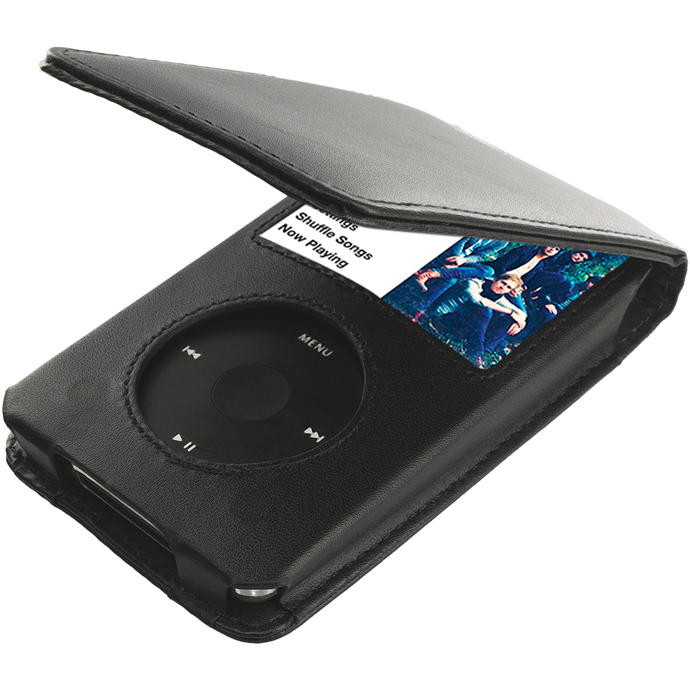 Apple iPod Classic Black Pouch Wallet Pouch Case Cover