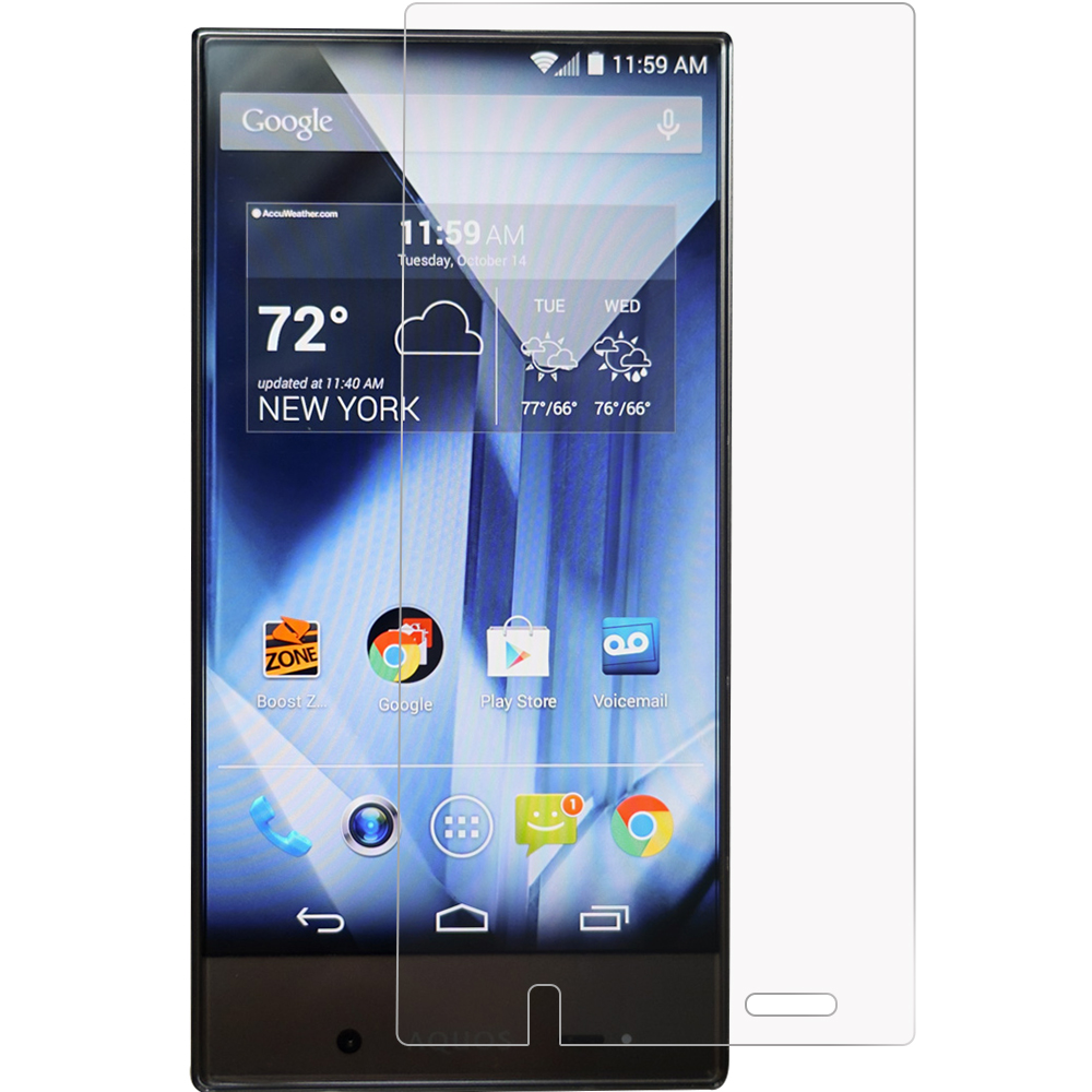 Sharp Aquos Crystal Anti Glare LCD Screen Protector