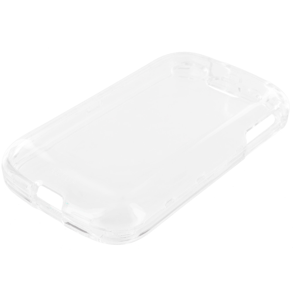 Alcatel One Touch Pop C1 Clear Crystal Transparent Hard Case Cover