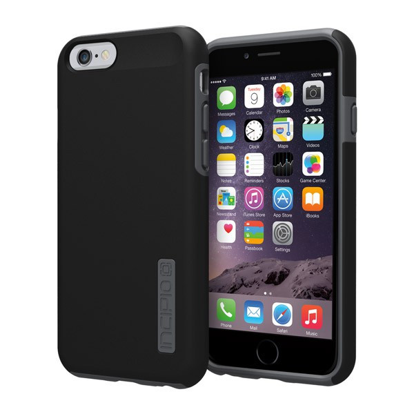 iPhone 6/6S - Black/Gray Incipio DualPro Case Cover