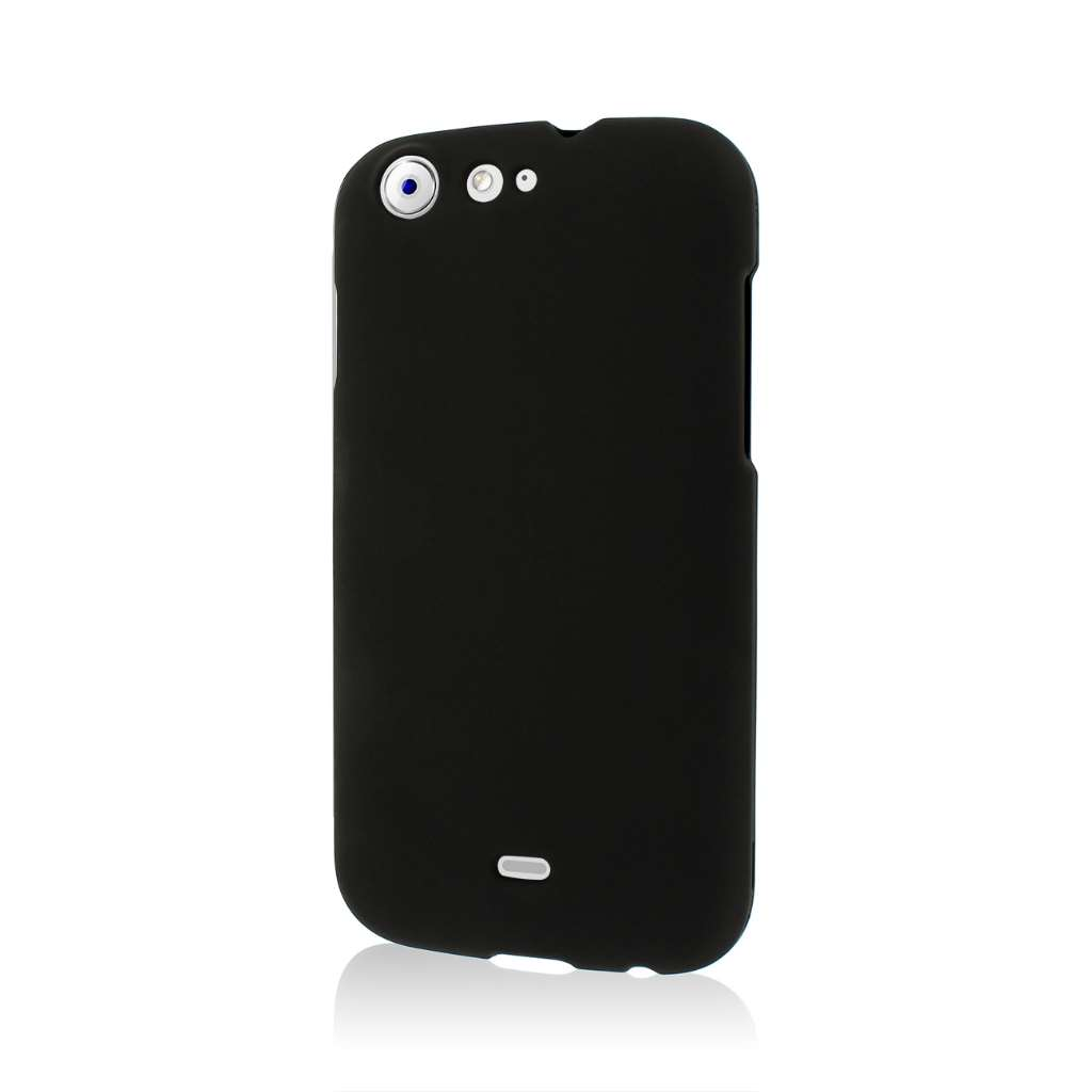 BLU Life One - Black MPERO SNAPZ - Rubberized Case Cover