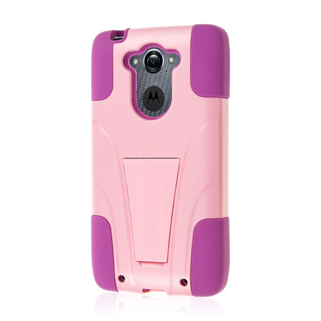 Motorola DROID TURBO - Pink MPERO IMPACT X - Kickstand Case Cover