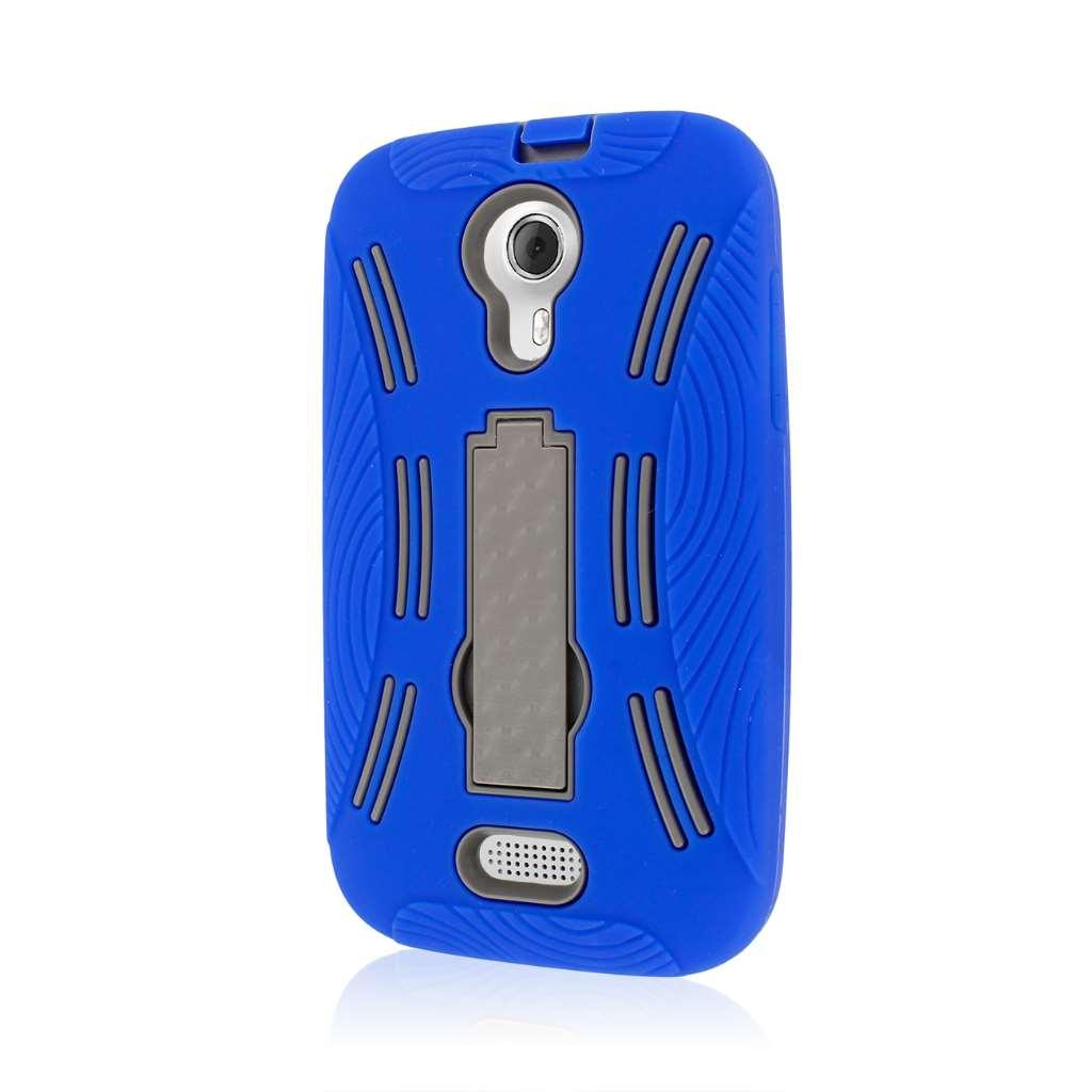 BLU Studio 5.0 - Blue MPERO IMPACT XL - Kickstand Case Cover