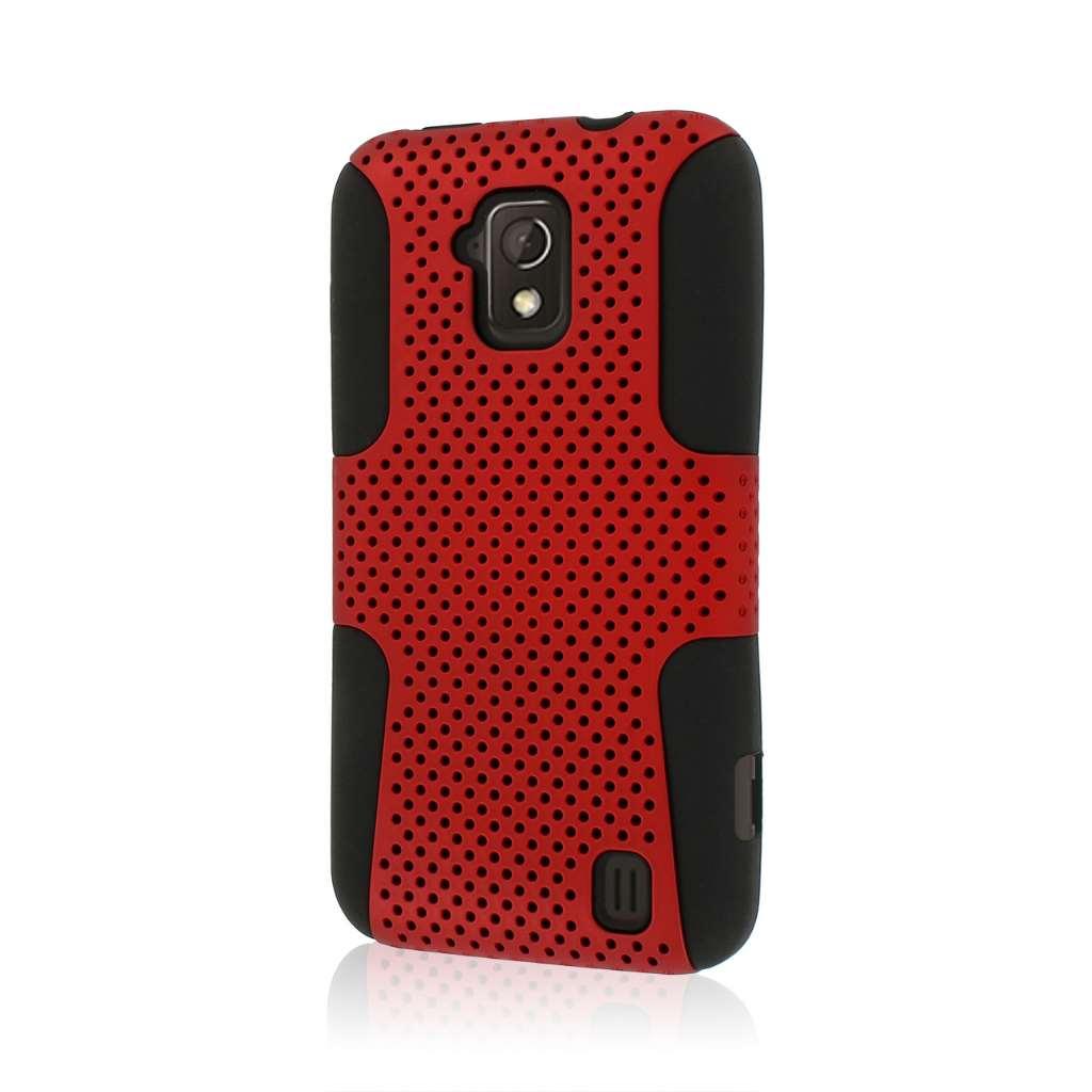 ZTE Solar - Red MPERO FUSION M - Protective Case Cover