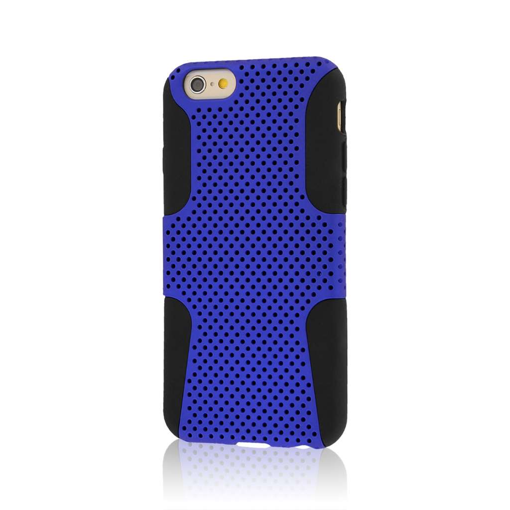Apple iPhone 6/6S - Blue MPERO FUSION M - Protective Case Cover