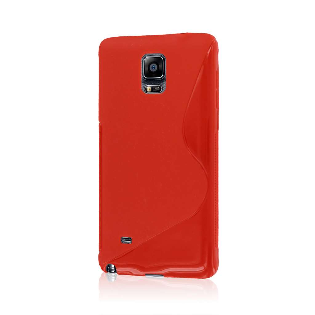 Samsung Galaxy Note 4 - Red MPERO FLEX S - Protective Case Cover