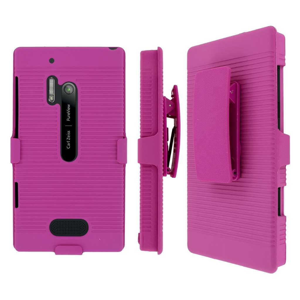 Nokia Lumia 928 MPERO 3 in 1 Tough Kickstand Case Cover