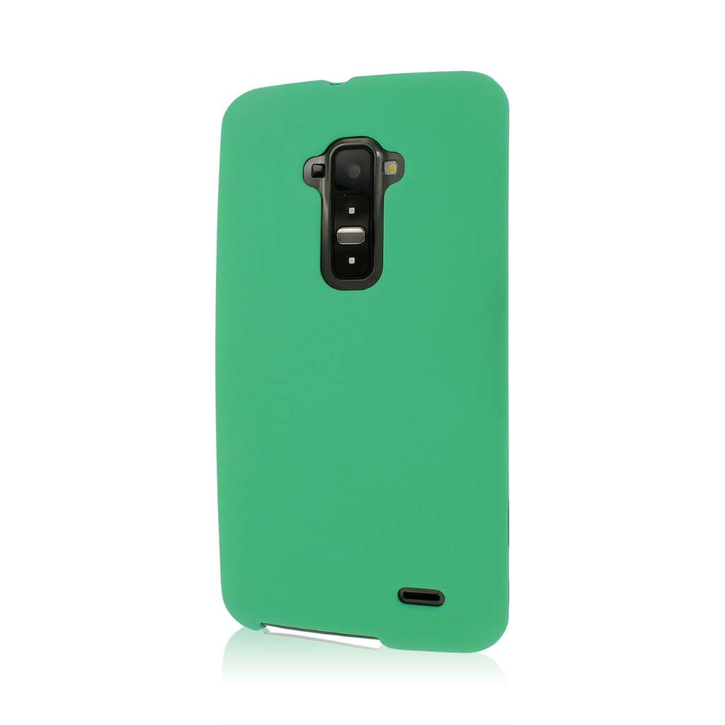 LG G FLEX - Mint Green MPERO SNAPZ - Rubberized Case Cover