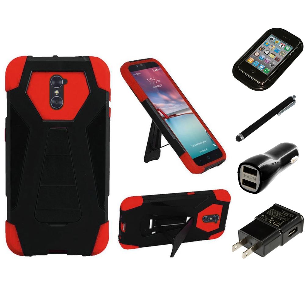 material zte zmax pro charger case 9th