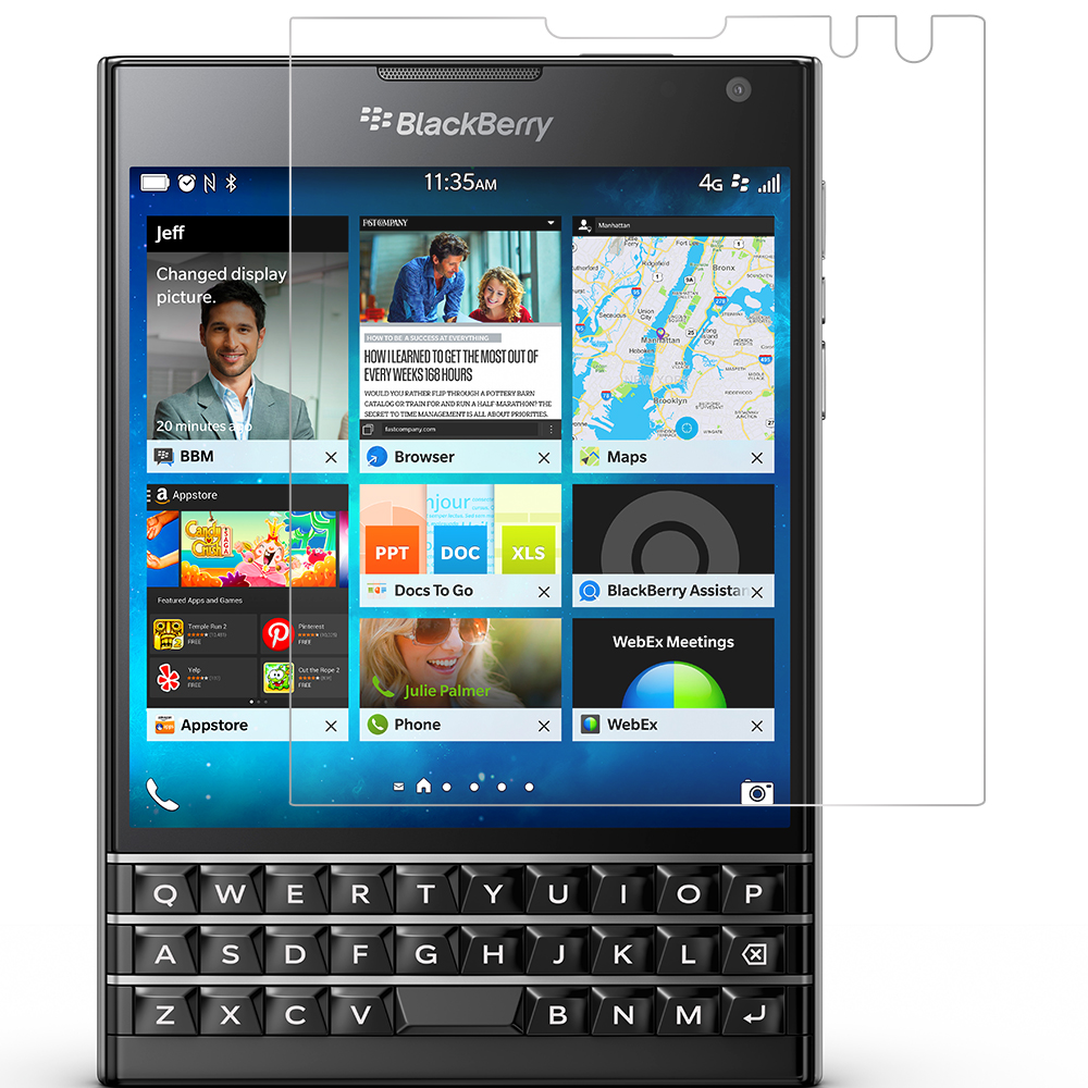 Blackberry Passport Clear LCD Screen Protector