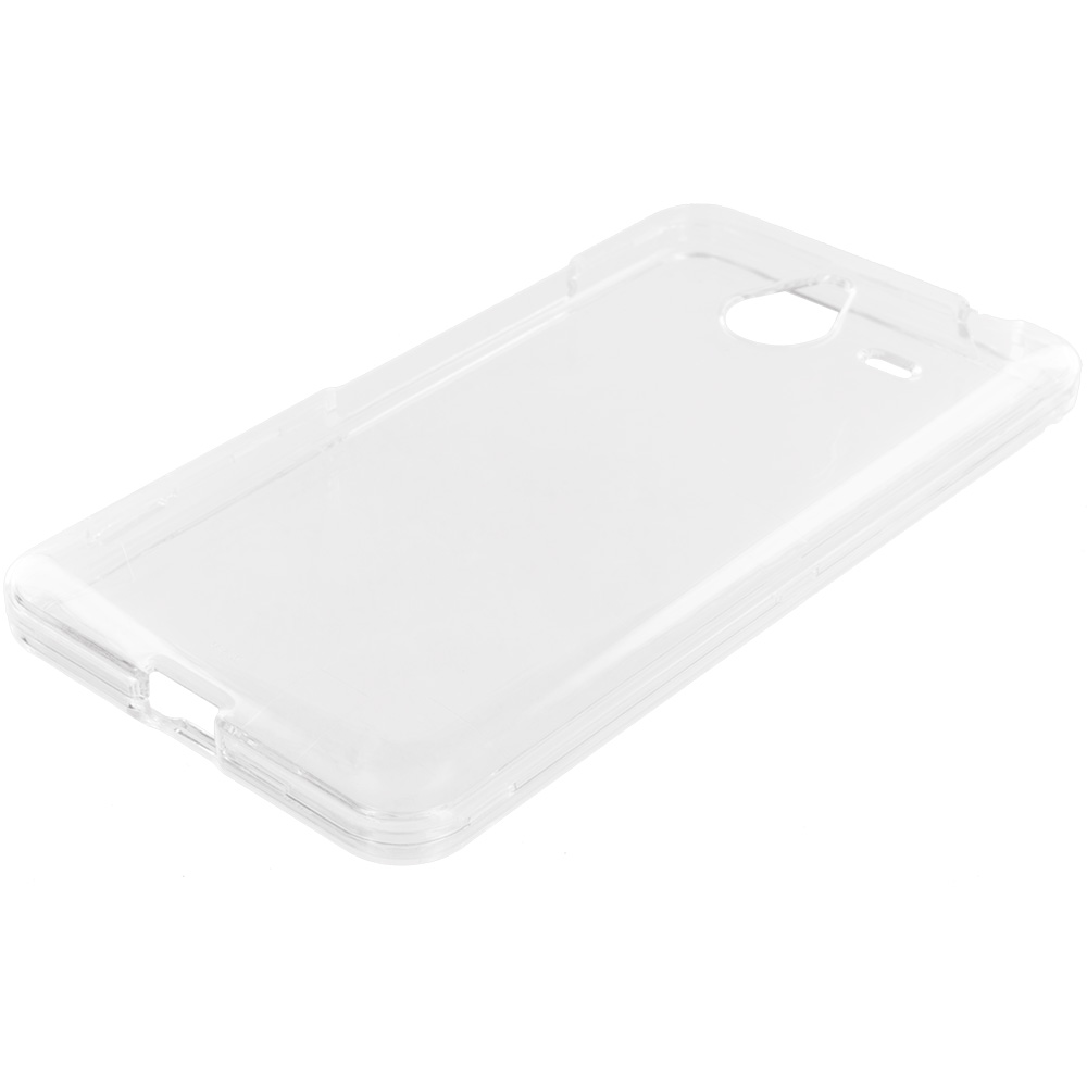 Microsoft Lumia 640 XL Clear Crystal Transparent Hard Case Cover