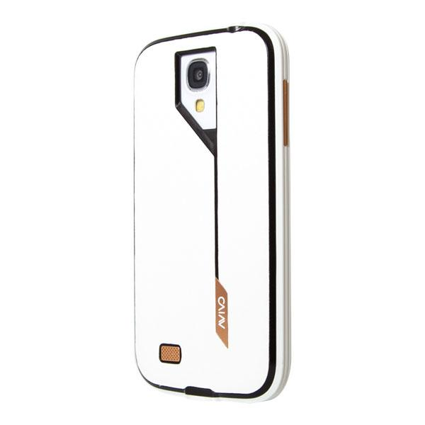 Samsung Galaxy S4 Avivo White Carbon Jacket and Frame Case