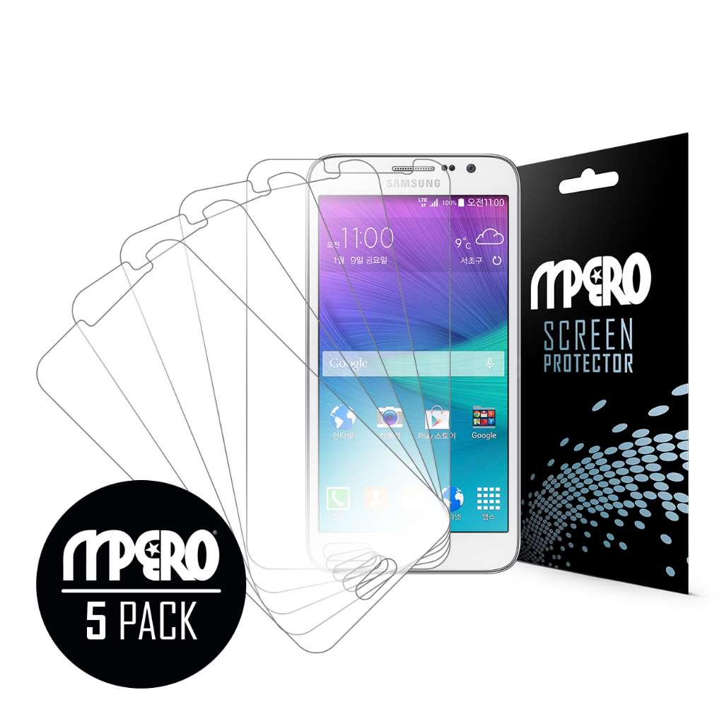 Samsung Galaxy Grand Max MPERO 5 Pack of Ultra Clear Screen Protectors