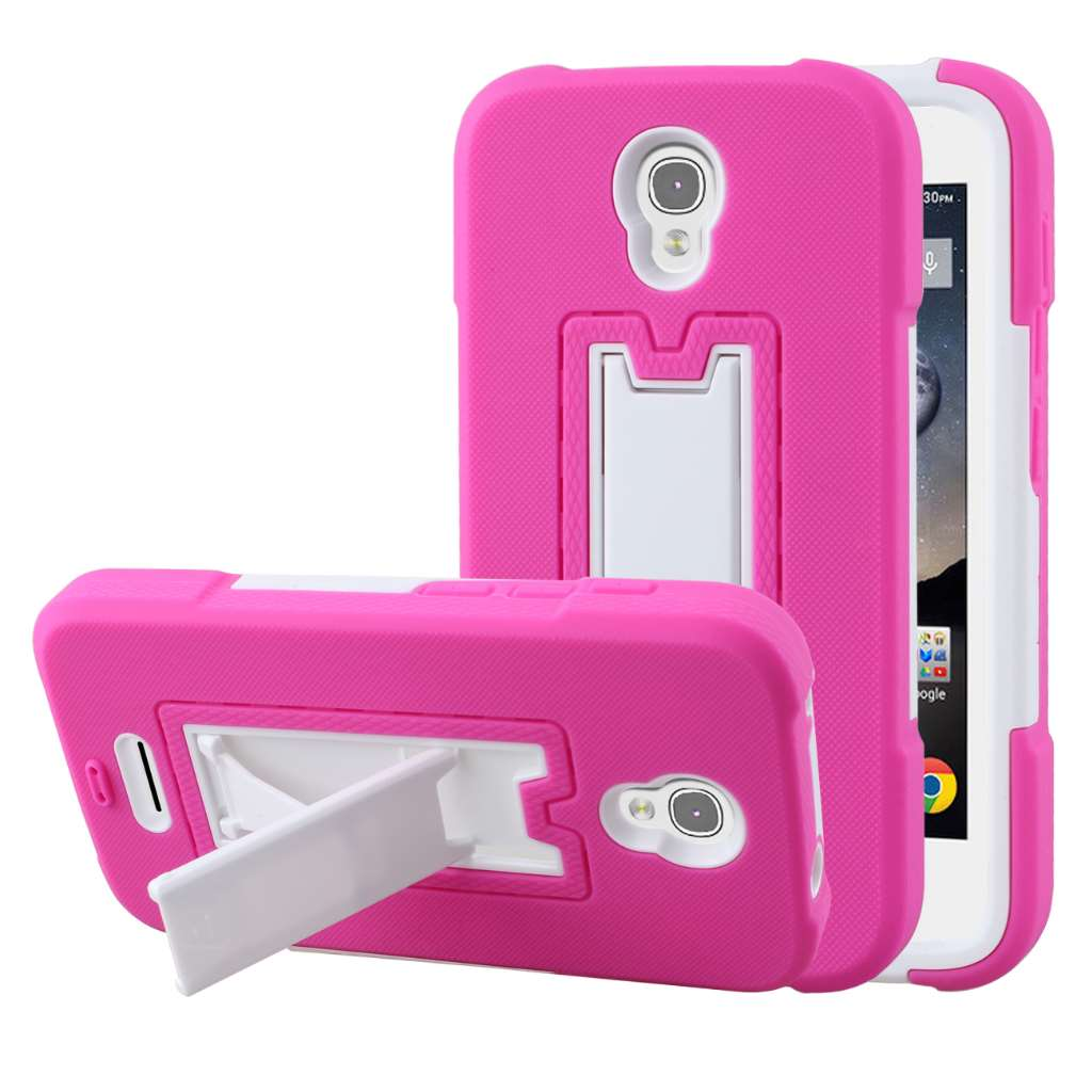 Alcatel OneTouch POP Astro - Hot Pink MPERO IMPACT XS - Kickstand Case Cover
