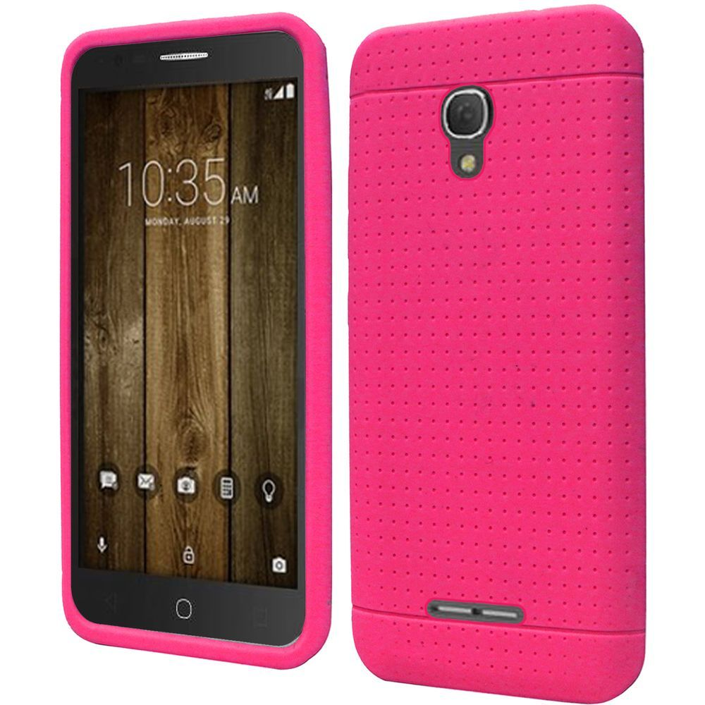 for alcatel pop 4 plus 4 5 5 rugged thick silicone grip. Black Bedroom Furniture Sets. Home Design Ideas