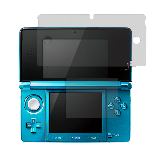 Nintendo 3DS Clear LCD Screen Protector