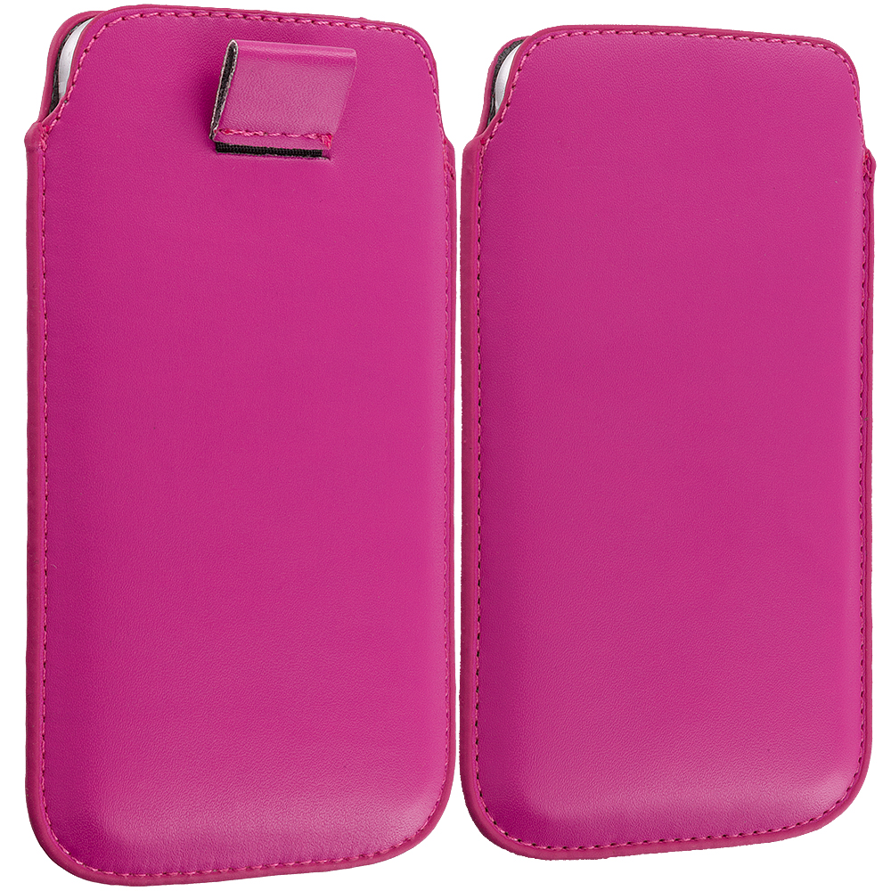 Apple iPhone 6 6S (4.7) Hot Pink Sleeve Pouch Case Holder