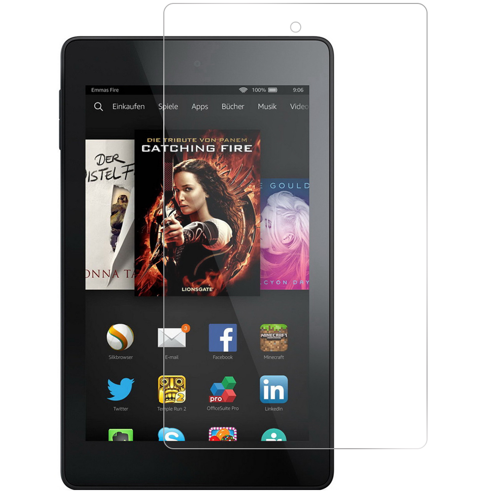 Amazon Fire HD 6 Tablet Clear LCD Screen Protector
