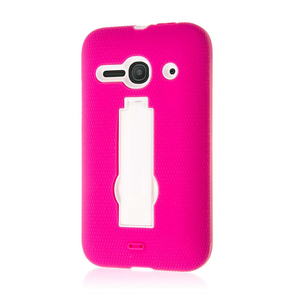 Alcatel OneTouch Evolve 2 - Hot Pink MPERO IMPACT XS - Kickstand Case Cover