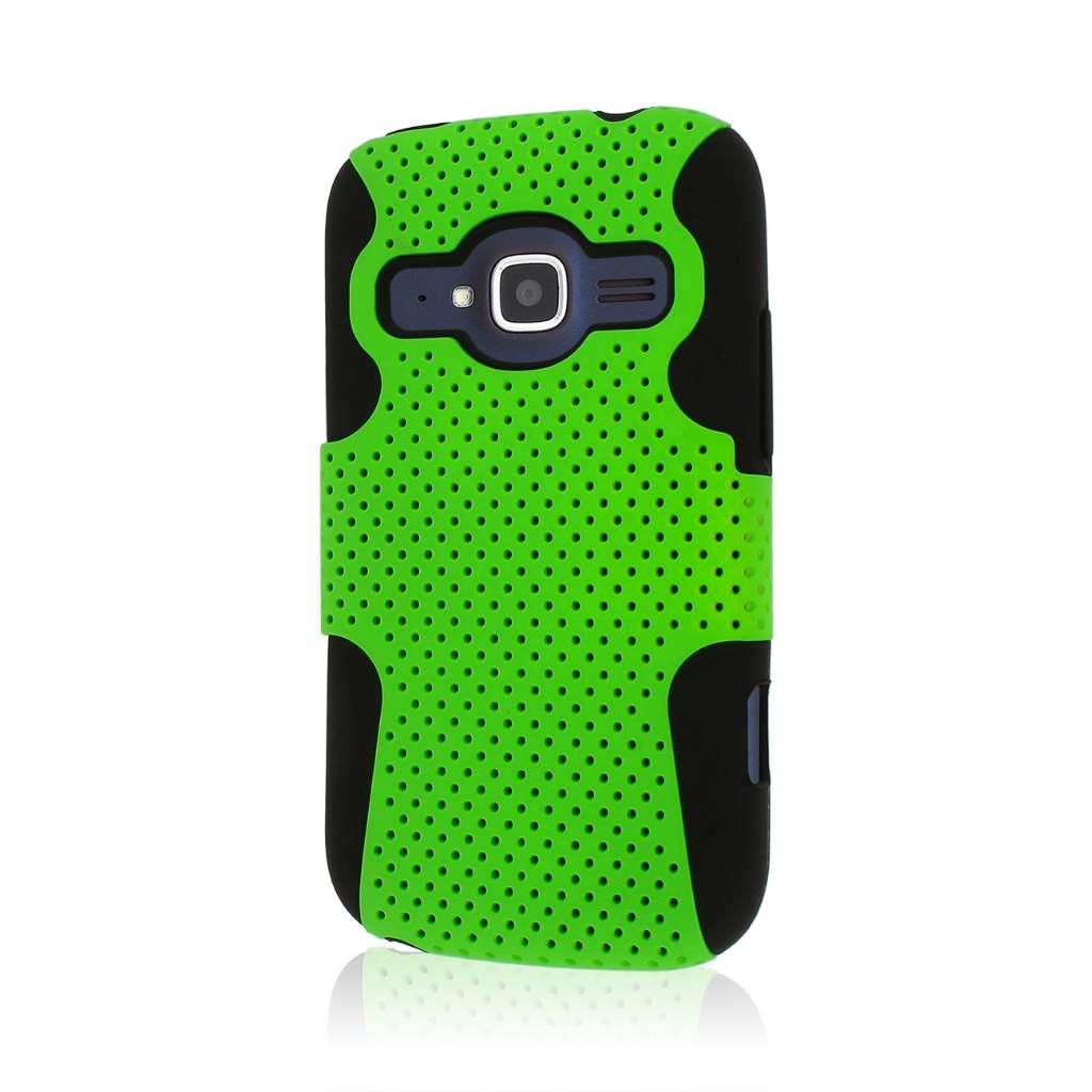 ZTE Concord 2 - Neon Green MPERO FUSION M - Protective Case Cover