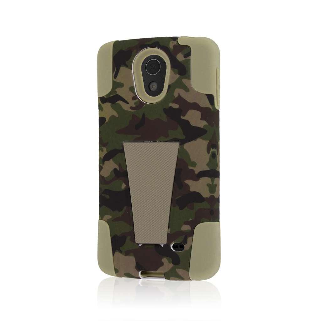 LG Lucid 3 - Hunter Camo MPERO IMPACT X - Kickstand Case Cover