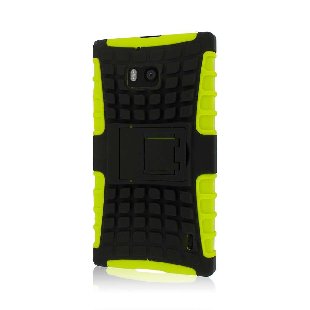 Nokia Lumia Icon- neon green MPERO IMPACT SR - Kickstand Case Cover