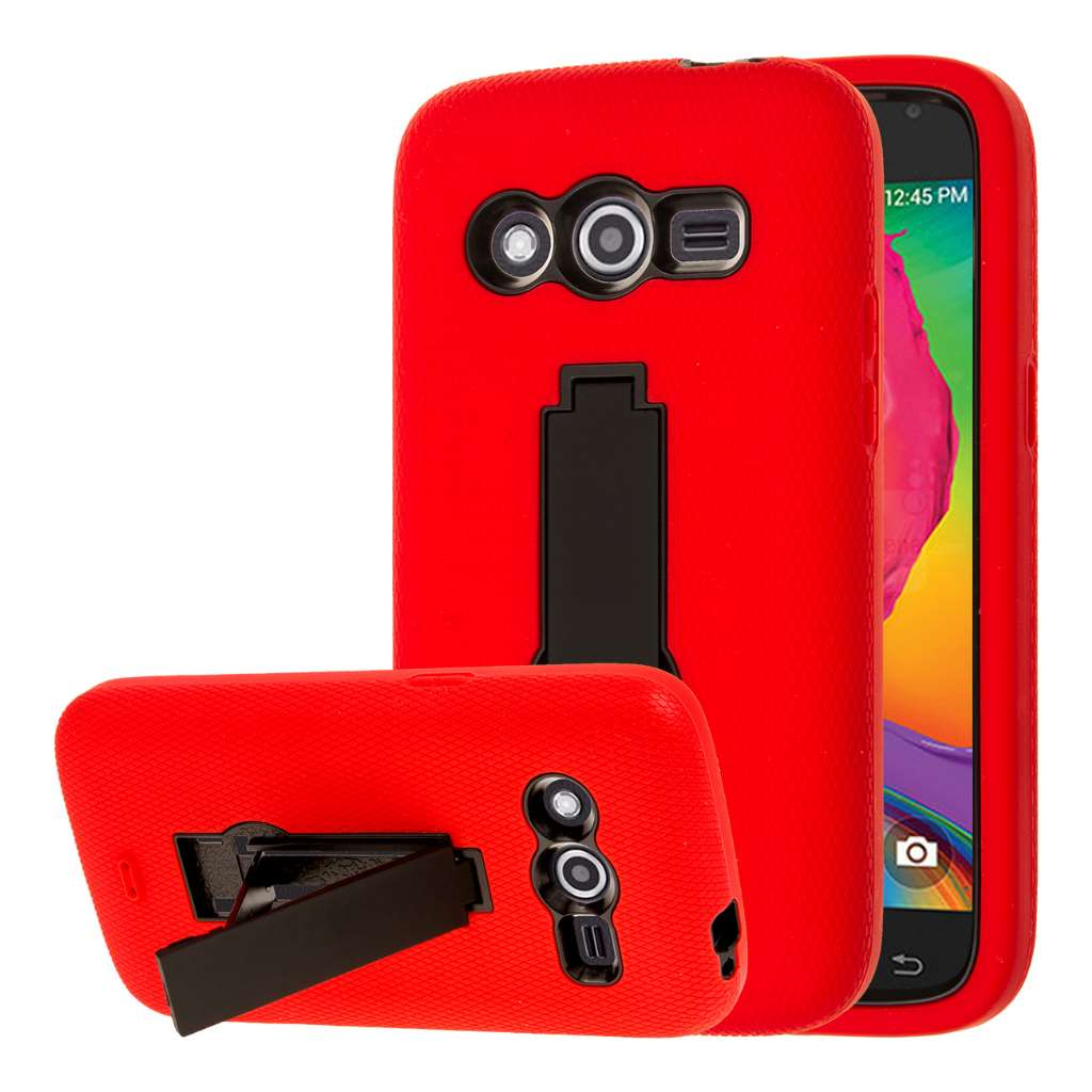 Samsung Galaxy Avant - Red MPERO IMPACT XS - Kickstand Case Cover