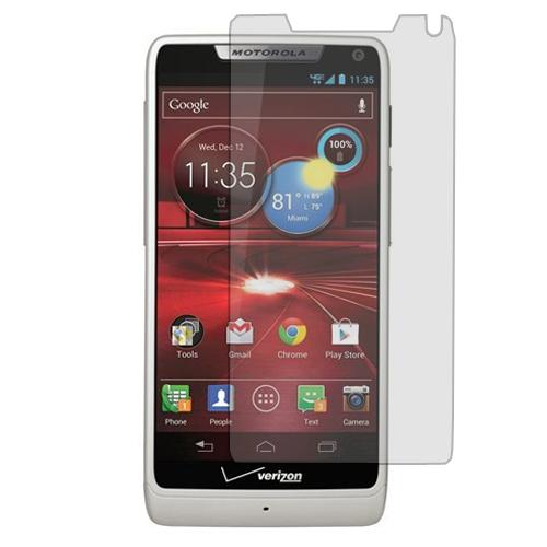 Motorola Droid Razr M XT907 / Luge Clear LCD Screen Protector