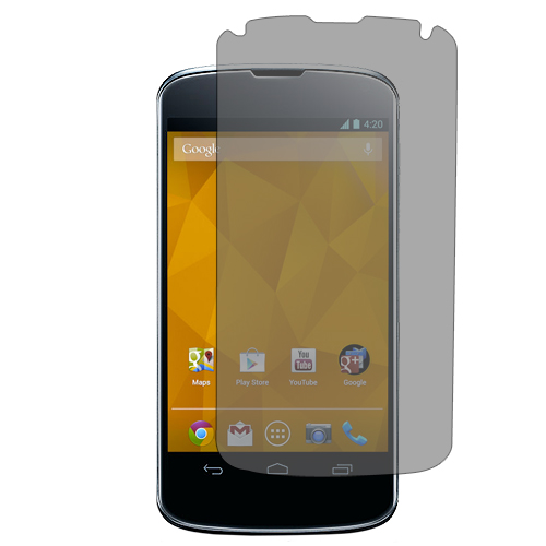 LG Google Nexus 4 E960 Matte LCD Screen Protector