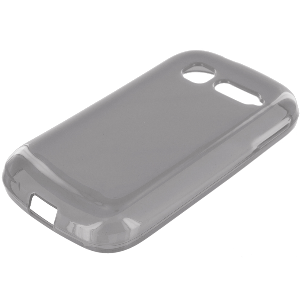 Alcatel One Touch Pop C1 Smoke TPU Rubber Skin Case Cover