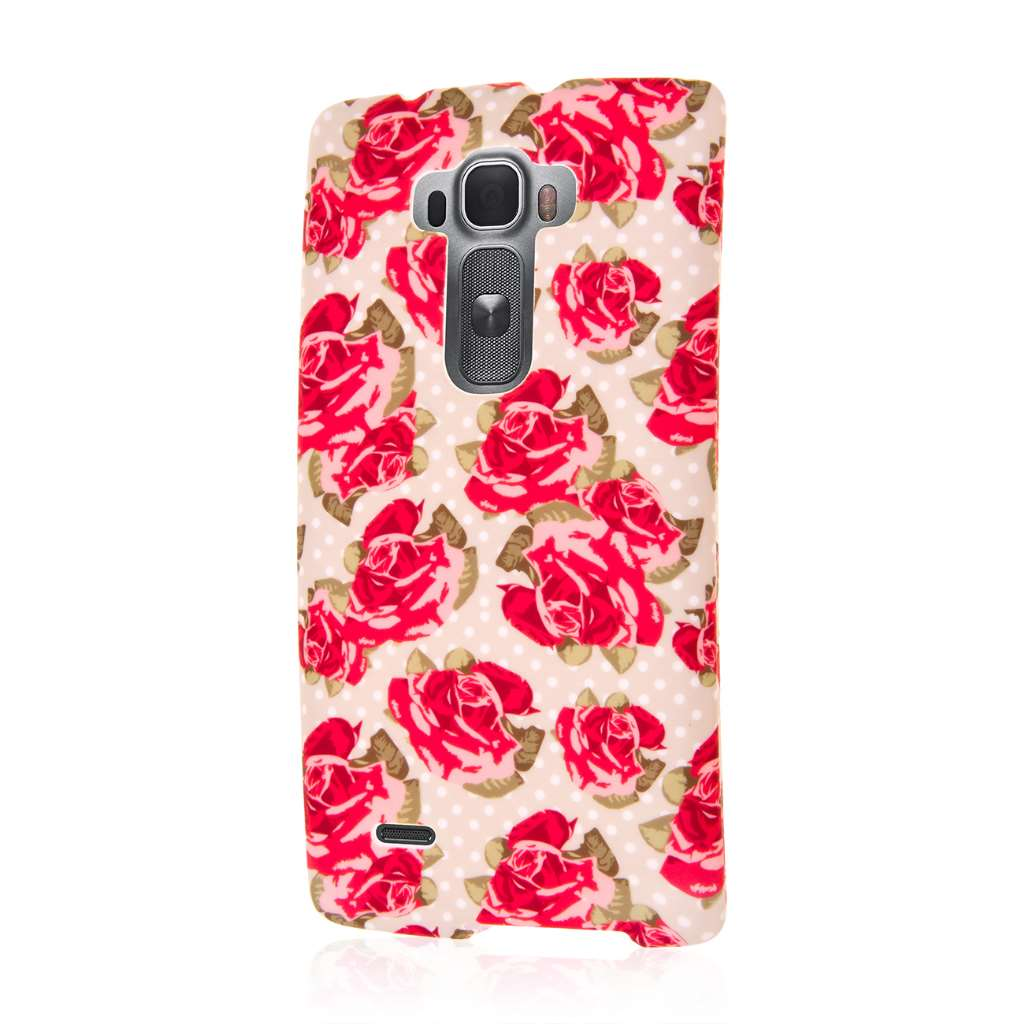 LG G Flex 2 - Vintage Red Roses MPERO SNAPZ - Case Cover
