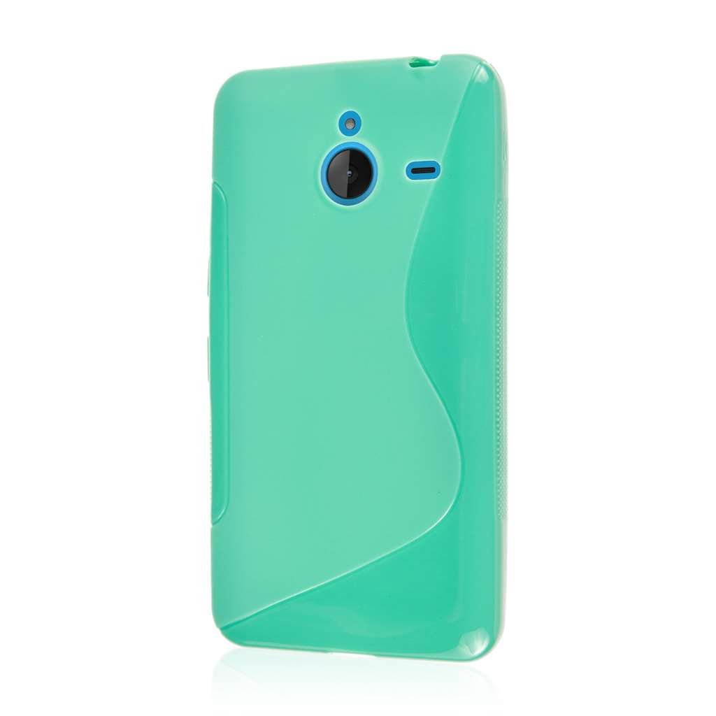 Nokia Lumia 640 XL - Mint Green MPERO FLEX S - Protective Case Cover