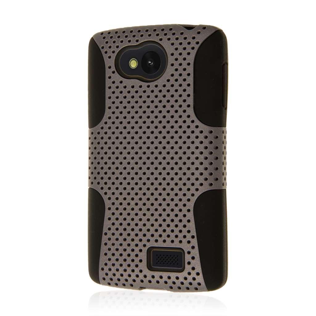 LG F60 - Gray MPERO FUSION M - Protective Case Cover
