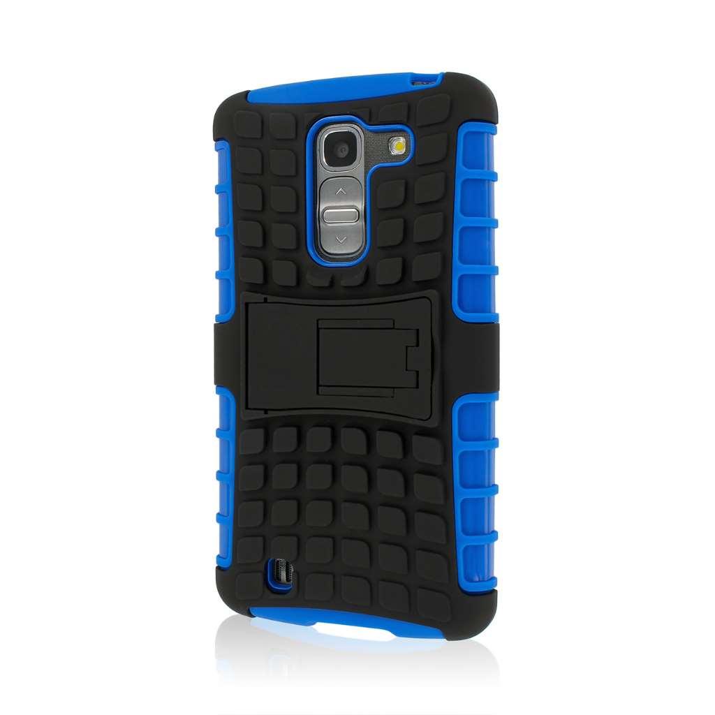 LG G Pro 2 - Blue MPERO IMPACT SR - Kickstand Case Cover