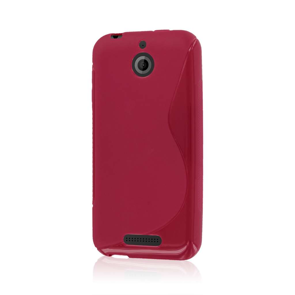 HTC Desire 510 - Hot Pink MPERO FLEX S - Protective Case Cover