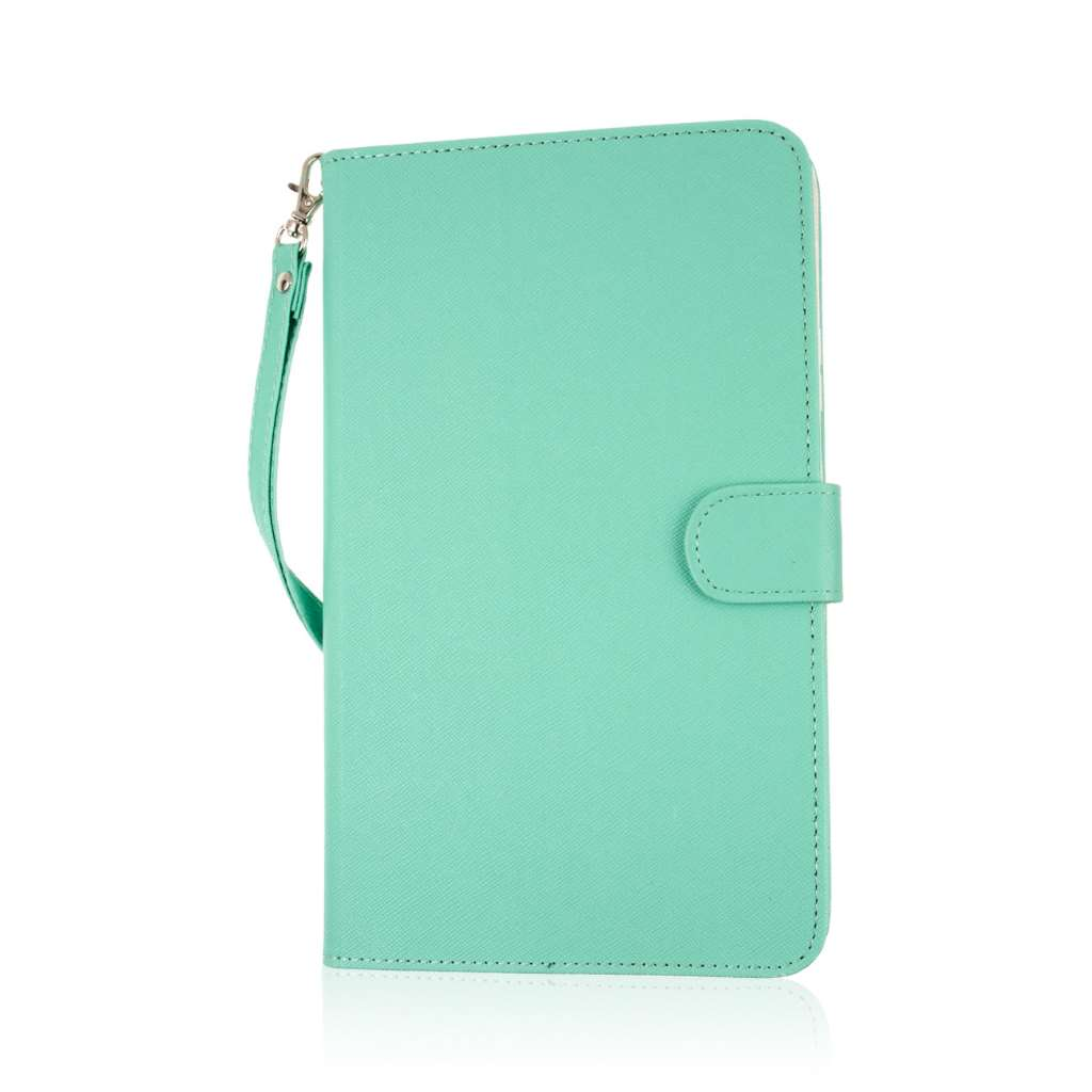 Samsung Galaxy Tab 4 8.0 - Mint MPERO FLEX FLIP Wallet Case Cover