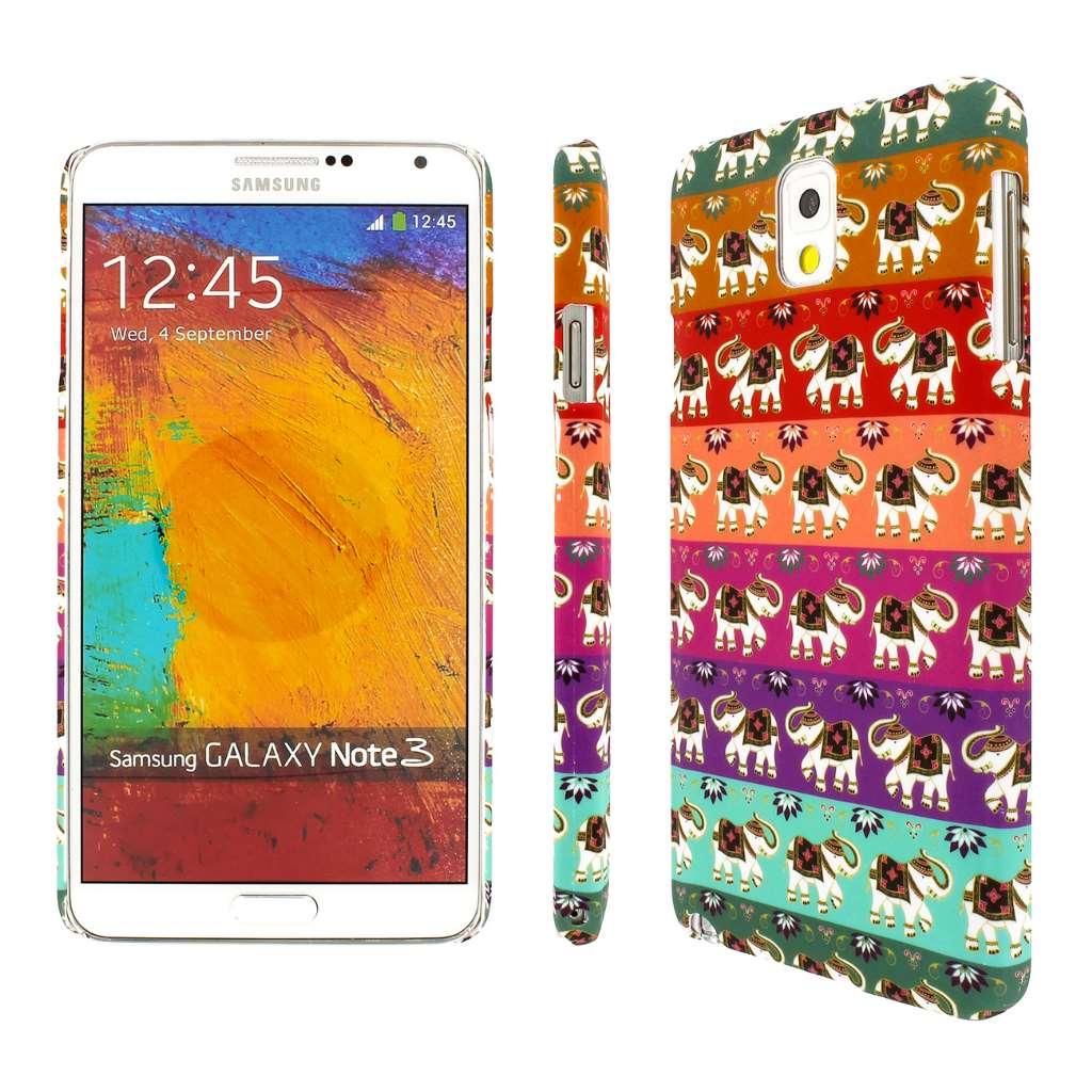 Samsung Galaxy Note 3 - Elephant Zen MPERO SNAPZ - Rubberized Case Cover
