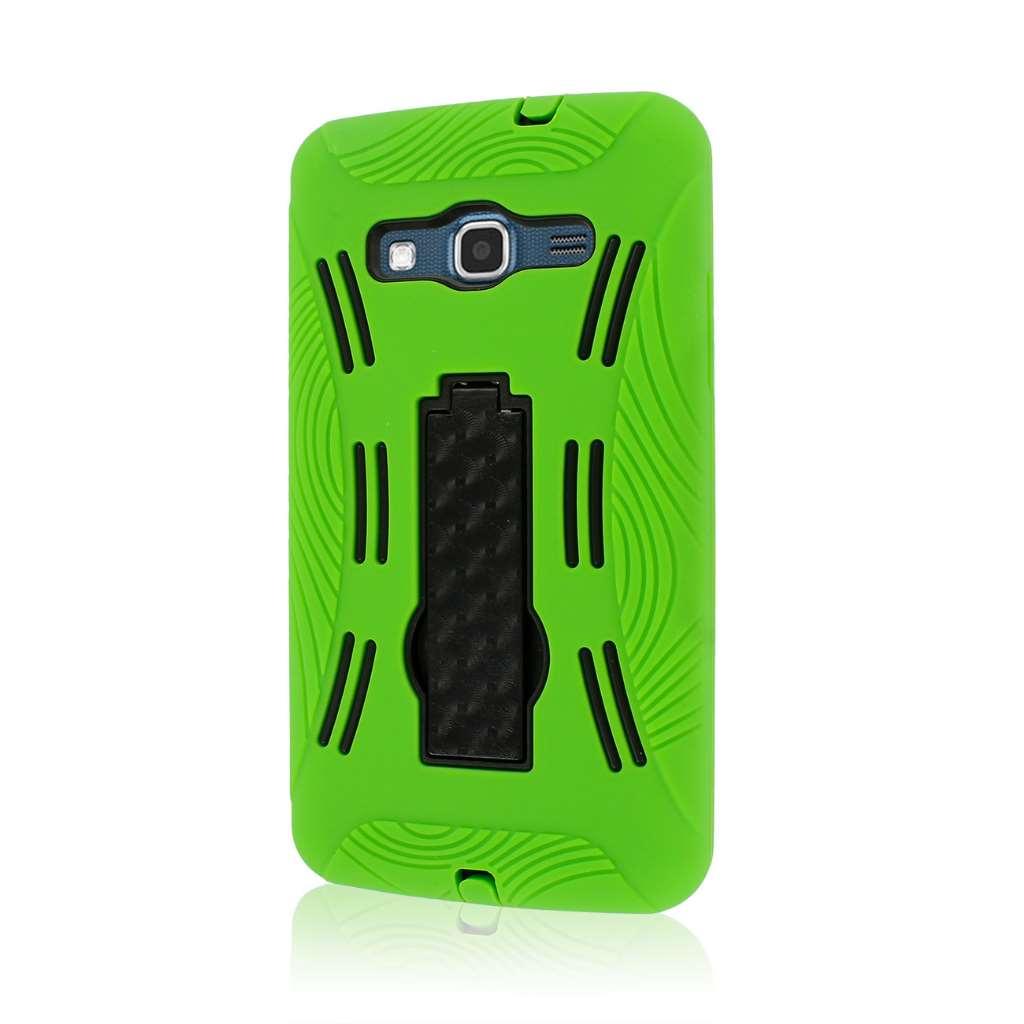 Samsung ATIV S Neo I800 I8675 - Neon Green MPERO IMPACT XL - Kickstand Case