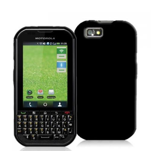 Motorola Titanium i1X Black TPU Rubber Case Cover