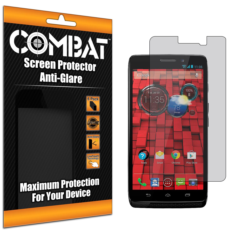 Motorola Droid Mini XT1030 Combat 6 Pack Anti-Glare Matte Screen Protector
