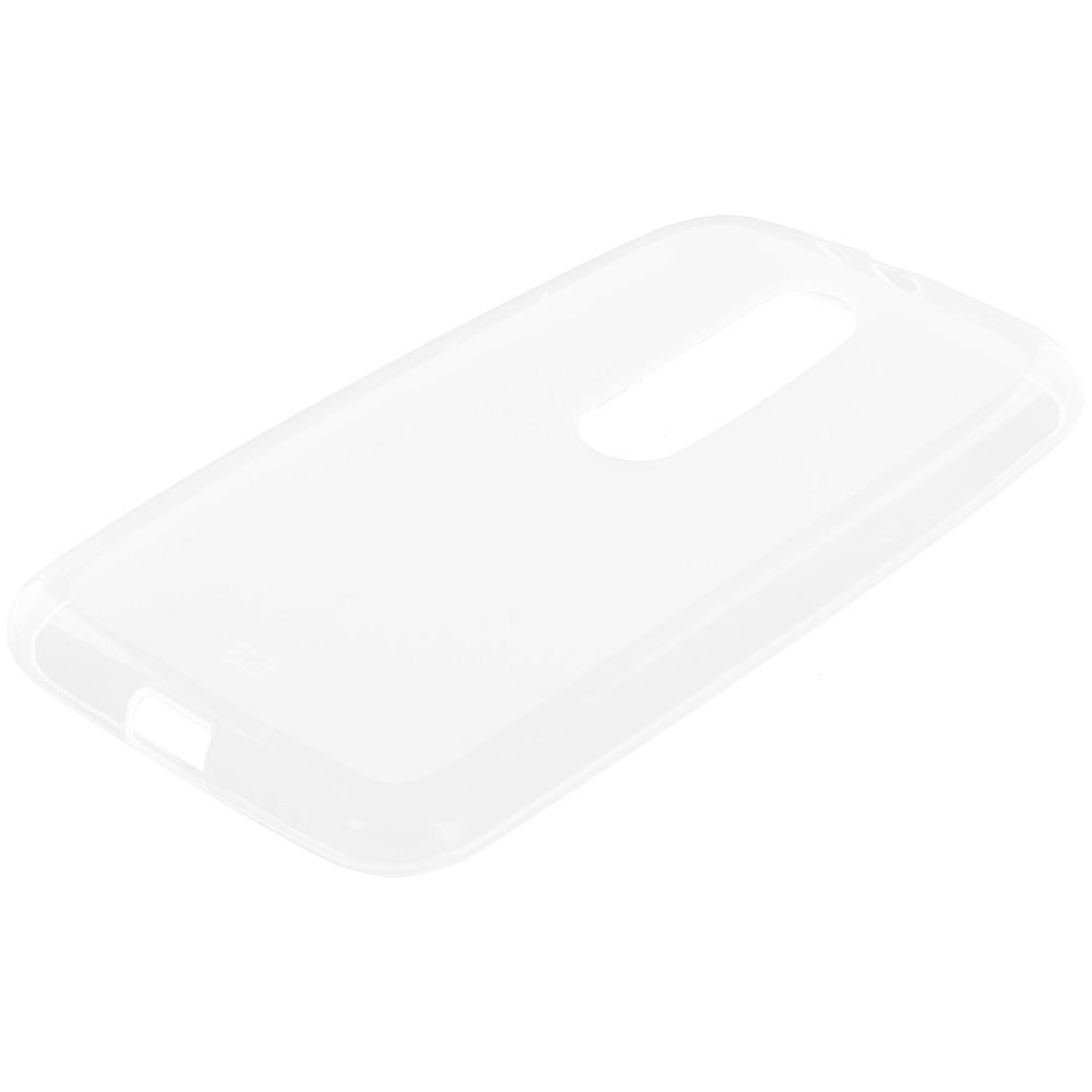 Motorola Moto G 3rd Gen 2015 Clear TPU Rubber Skin Case Cover