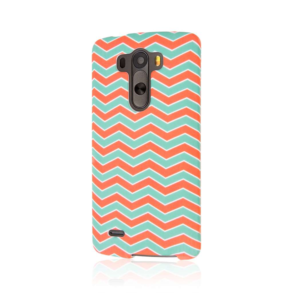 LG G3 - Mint Chevron MPERO SNAPZ - Case Cover