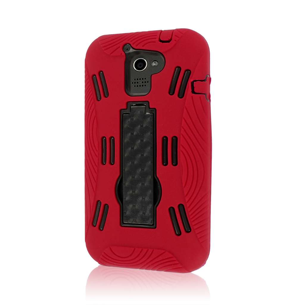 Huawei Premia 4G M931 - Red MPERO IMPACT XL - Kickstand Case Cover