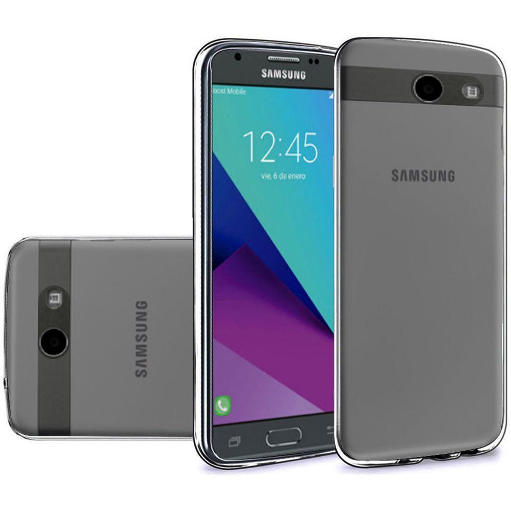 For Samsung Galaxy J3 Emerge TPU Rubber Flexible Phone ...