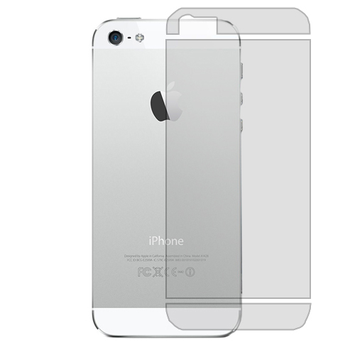 Apple iPhone 5 / 5S Clear Back LCD Screen Protector
