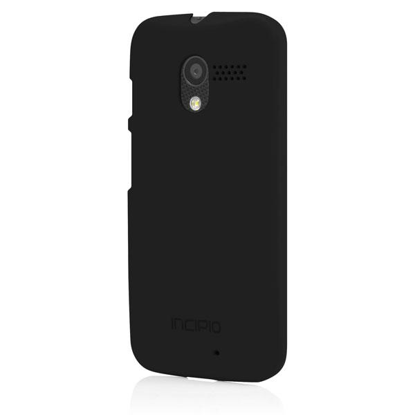 Moto X - Black Incipio Feather Case Cover